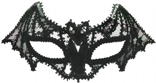 Bat Mask Lace Vampire Dracula Fancy Dress